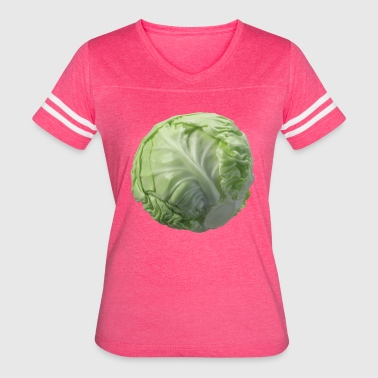 Cabbage is Life - Women's Vintage Sport T-Shirt