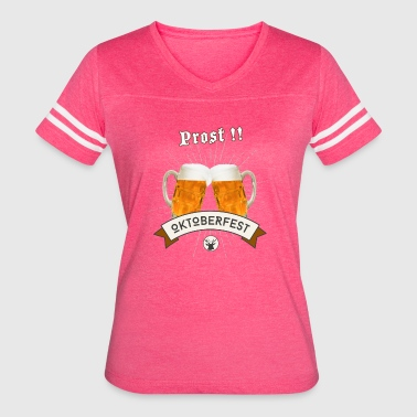 Lol Beer oktoberfest prost beer drink craft party love lol - Women's Vintage Sport T-Shirt
