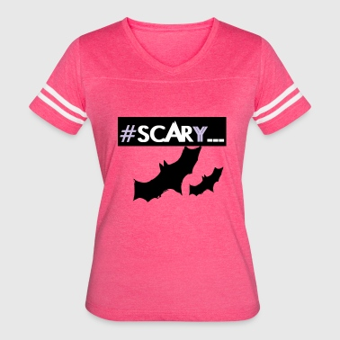 Bat Design Halloween #SCARY bats halloween design - Women's Vintage Sport T-Shirt