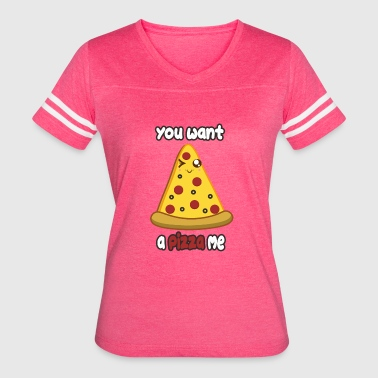 Wanna Be Wanna Pizza - Women's Vintage Sport T-Shirt
