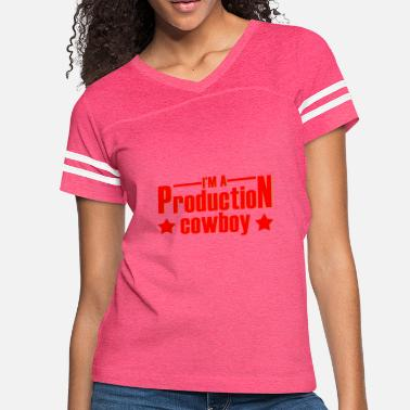 Programmer Production production cowboy - Women's Vintage Sport T-Shirt