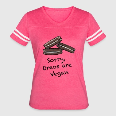 Oreos Oreos are Vegan - Women's Vintage Sport T-Shirt