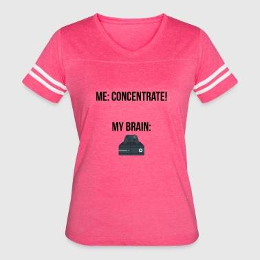 Concentration Concentrate - Women's Vintage Sport T-Shirt