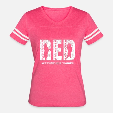 Red Friday Army Mom Red Friday Wear Red On Friday - Women's Vintage Sport T-Shirt