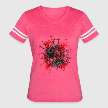 Different-is-not-dangerous Two dangerous Spiders - Women's Vintage Sport T-Shirt