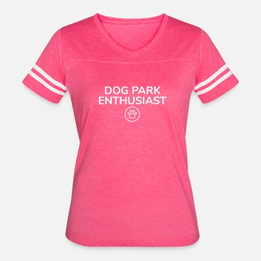 Dog Park Dog Park Enthusiast - Women's Vintage Sport T-Shirt