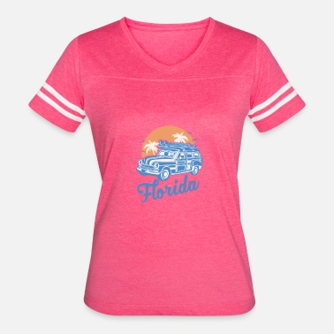 Florida-sunshine-state-states State of Florida - Women's Vintage Sport T-Shirt