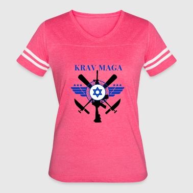 Close Combat Krav Maga - Sticks Knives Guns - Women's Vintage Sport T-Shirt