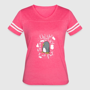 up up pinguin - Women's Vintage Sport T-Shirt