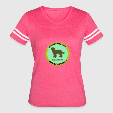 Wiggle Butts Club. Dogs of the world - Women's Vintage Sport T-Shirt