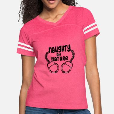 Nature naughty by nature Handcuffs - Women's Vintage Sport T-Shirt