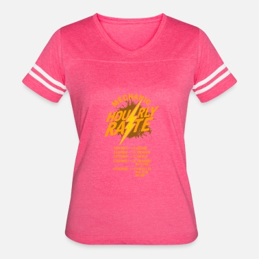 Mechanic Hourly Rate MECHANIC: Mechanic Hourly Rate - Women's Vintage Sport T-Shirt