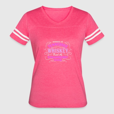 Strawberry Wine Smooth Tennessee Whiskey Strawberry Wine Song Gift - Women's Vintage Sport T-Shirt