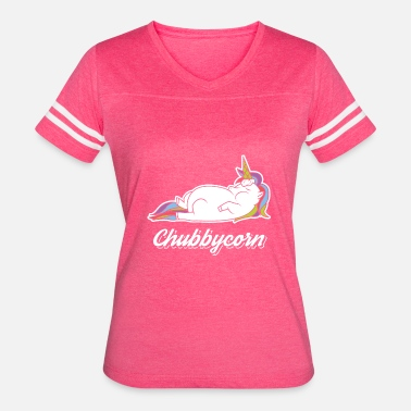 Belly Of The Beast Chubbycorn Funny T-Shirt Gift for Unicorn Lovers - Women's Vintage Sport T-Shirt