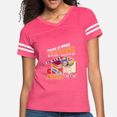 Comic Book Comic Books - Women's Vintage Sport T-Shirt