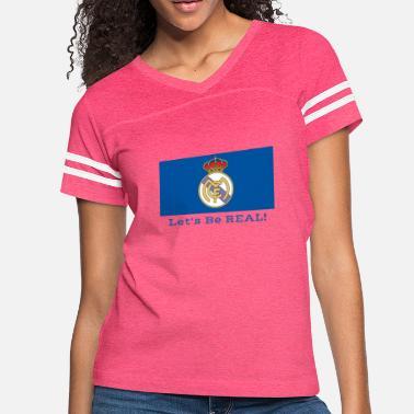 8cb638fb2bb Soccer Apparel For madrid soccer team apparel futbol tops - Women  39 s  Vintage
