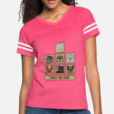 Monster Hunter World - Women's Vintage Sport T-Shirt
