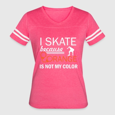 Speedskating speedskate design - Women's Vintage Sport T-Shirt