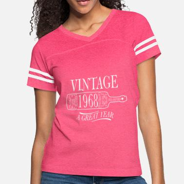 Year Of Birth Vintage Birth Year 1968 - Women's Vintage Sport T-Shirt