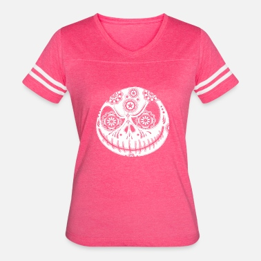 Jack Skellington Sugar Skellington vectorized - Women's Vintage Sport T-Shirt
