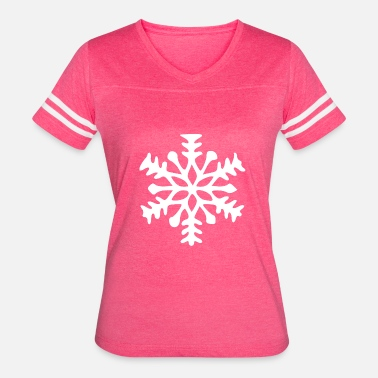 Ice Crystal Snowflake Snow crystal ice crystal - Women's Vintage Sport T-Shirt