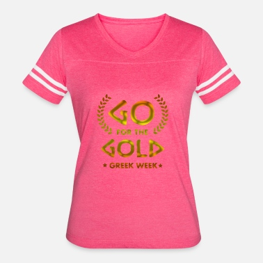 Going For Gold Go for the Gold - Women's Vintage Sport T-Shirt