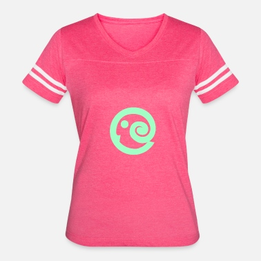 Belzebub Green circle - Women's Vintage Sport T-Shirt