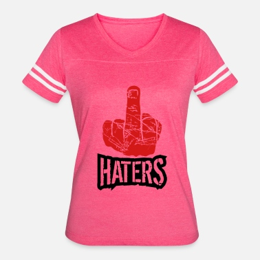 Fuck Math show wanker fuck off you hand middle finger cool h - Women's Vintage Sport T-Shirt