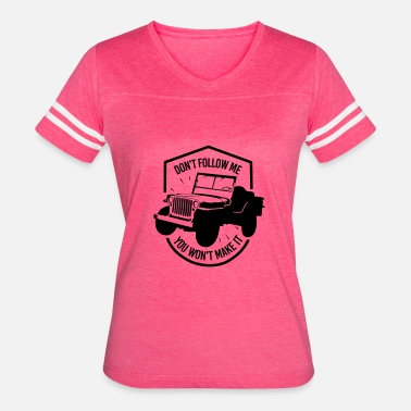 4x4 Off Road 4x4 Jeep 2 - Women's Vintage Sport T-Shirt