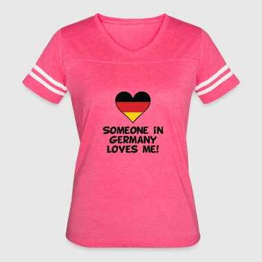 Germany Kids Someone In Germany Loves Me - Women's Vintage Sport T-Shirt