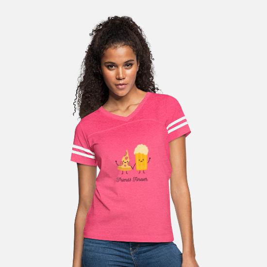 Friends Forever T-Shirts - Friends Forever - Women's Vintage Sport T-Shirt vintage pink/white