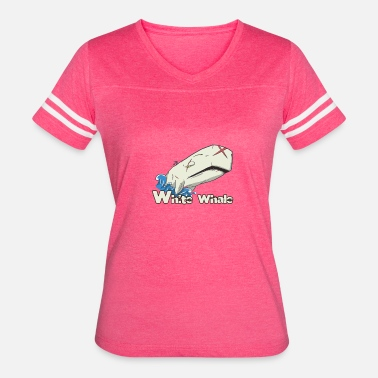 Dick Present Moby Dick - Women's Vintage Sport T-Shirt