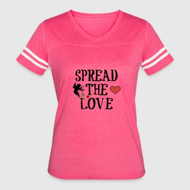 SPREAD THE LOVE - Women's Vintage Sport T-Shirt