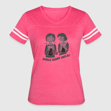 Girls Gone Mild T-Shirt (Light) - Women's Vintage Sport T-Shirt