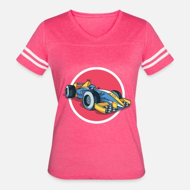 Formula Formula 1 racing car - Women's Vintage Sport T-Shirt