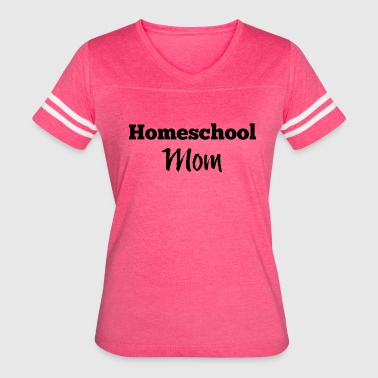 Homeschool Mom - Women's Vintage Sport T-Shirt