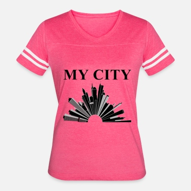 My City My City - Women's Vintage Sport T-Shirt