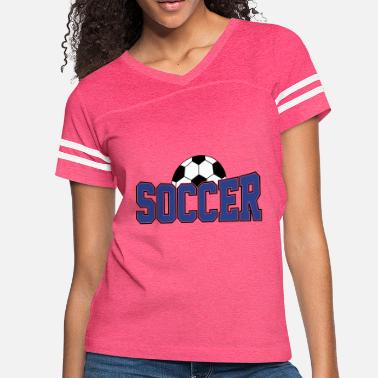 Soccer Ball Soccer Ball , Soccer Player, Soccer Ball - Women's Vintage Sport T-Shirt