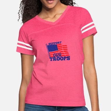 Support Our Troops Support Our Troops - Women's Vintage Sport T-Shirt