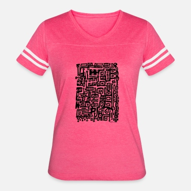 Primitive Art Primitive doodle - Women's Vintage Sport T-Shirt