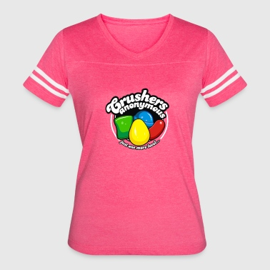 Just Crushers Anonymous Cuber System - Women's Vintage Sport T-Shirt