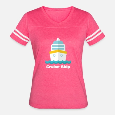 Funny Cruise Cruise Ship funny tshirt - Women's Vintage Sport T-Shirt