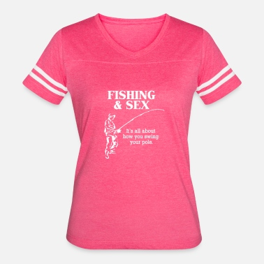 Bass Fishing Funny Fly Fishing BASS Funny - Women's Vintage Sport T-Shirt