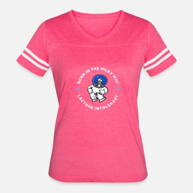 Born In 2000 Born in the Milky Way Lactose Intolerant - Women's Vintage Sport T-Shirt