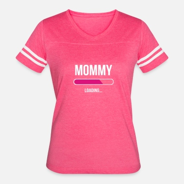 Loaded Kids Mommy Loading - Women's Vintage Sport T-Shirt