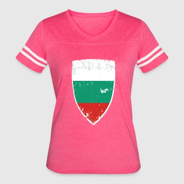 Bulgaria Flag Flag of Bulgaria - Women's Vintage Sport T-Shirt