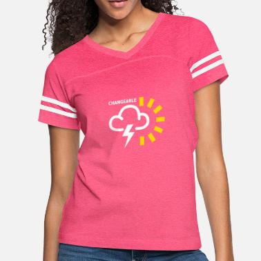 Weather Weather Forecast Symbol - Women's Vintage Sport T-Shirt