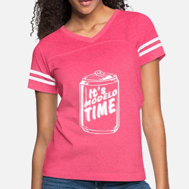 Foos Its Modelo Time Foo T Shirt - Women's Vintage Sport T-Shirt
