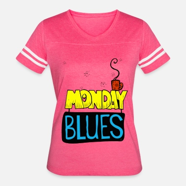 Blue Monday Monday Blues - Women's Vintage Sport T-Shirt