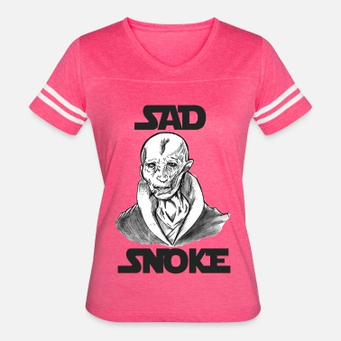 The Last Jedi Star Wars The Last Jedi Sad Snoke Shirt - Women's Vintage Sport T-Shirt